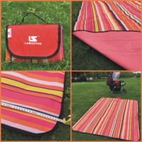Wholesale LAMASTON Extra Large Waterproof Picnic Blanket for Camping Beach Mat for Kids Baby Foldable Indoor Outdoor Beach Blanket Purse Tote x1 M
