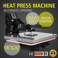 Wholesale 40X50CM Auto Open Magnetic Heat Transfer Heat Press Machine for T shirts Pants
