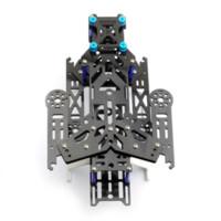 american electric blue - New EMAX Transformer Carbon Fiber Quadcopter Kit Frame BLUE frame natural fiber american fiber american