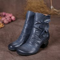 beauty med - Classical beauty high heels genuine leather shoes casual and comfortable shoes all match handmade new autumn and winter ankle boots