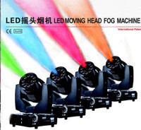 Wholesale New Arrival W RGBA Quad Color LED Moving Head Fog Machine with Immediate Stop Technology Stage Special Effects