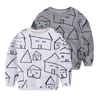 animal house sweater - 2 Y Children clothing baby boys cartoon houses sweater kids boys hoodies spring autumn casual cotton coat baby shirt