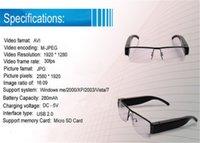 Wholesale 20PCS SPY p HD Digital Video Glasses Hidden Camera Eyewear DVR Portable Security Surveillacne Camcorder freeDHL