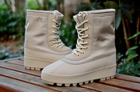 best winter boots brands - 2016 Hot Kanye Boots Men Boots Best Quality Women Winter Genuine Leather Boots Original Brand Fashion Boots Shoes with original Box