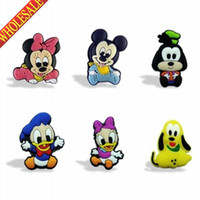 Wholesale New Arrival Mickey PVC Blackboard Magnetic Stick Lovely Blackboard Magnets For Staionery Kids Party Favor