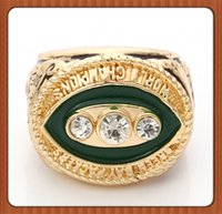 Cheap Free Shipping 1967 GB Packers Super Bowl Championship Ring Gold Plated World Series Alloy Rings For Men Collection