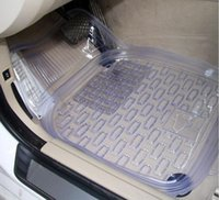 Wholesale 10 sets a packet of transparent thick transparent PVC car mats plastic mats pot slip B