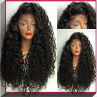 auburn parts - 2016 Soft brazilian silk base curly free part glueless full lace wig and lace front wig human hair wigs