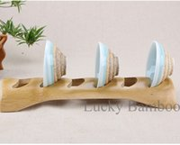 Wholesale Chinese Handmade Tea Cup Storage Holders Kitchen Dish Rack Style Tea Cup Bathroom Shelves Eco Friendly Folding Storage Racks