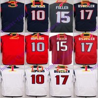 football jersey blank - 2016 Elite Football Stitched Texans Will Fuller Brock Osweiler Blank White Blue Red Jerseys Mix Order