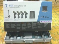 Wholesale BETADMK7 Classic Kits condensor drum wired microphone BETA91A pc BETA56A BETA98D S BETADMK7 BETA DMK7 microphone