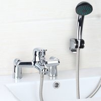 best hand mixers - Best Bathroom Shower Faucet Set Rainfall Bathtub Shower banho de banheira Mixer Brass Shower Bath with Hand Shower