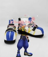Wholesale Kingdom Hearts Riku Cosplay Shoes Boots shoe boot MM1633 anime animation Halloween Christmas