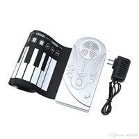 Wholesale Portable Flexible Roll Up Piano Electronic Keys Soft Keyboard Piano Musical Instrument Silicone Electronic