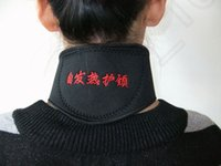 Wholesale 455PCS MMA22 Neck Self Heat Brace Neck Support Neck Strap Tourmaline Self Heating Magnetic Therapy Neck Wrap Belt