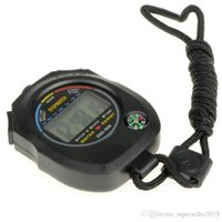 Wholesale ASDOMO New Waterproof Chronograph Timer Stopwatch Sport Counter Digital Odometer Hot Sale High Quality T0178 W0