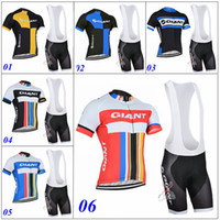 Wholesale GIANT Cycling Jersey Pro Team Alpecin Ropa Ciclismo Hombre Short Bike Mtb Cycling Clothing Bicycle Maillot Ciclismo Styles For Sale