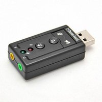 Wholesale High Quality D Audio Sound Card Adapter Mbps USB Virtual Channel CH