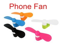 Wholesale Top quality best price OTG Android iphone Phone Fan Xiaomi th Micro USB MINI Portable Fan For Android Smart Phone Port Laptop Desktop