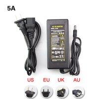 Wholesale AC V to DC12V A A A A Power Supply Adapter Transformer EU US Plug For LED Strip