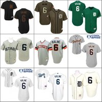 authentic tigers jersey - Grey Throwback Al Kaline Authentic baseball Jersey Men s Mitchell And Ness Detroit Tigers stitched S XL