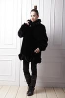Wholesale 2016 fashion warm faux fur coat