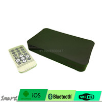 Wholesale Mini P HD Media Player box with HDMI AV VGA USB SD MMC BlackAuto play function when power on