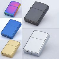 Wholesale Cigarette Lighter Accessories Electric Double Arc Windproof Rechargeable H184