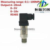 Wholesale Pressure transmitter output signal mA V V Range Mpa Pressure monitoring suitable for Constant pressure water supply