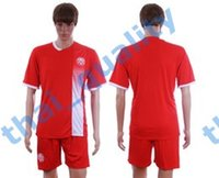Cheap 2016-2017 Season Mens Soccer Kits National Team Canada Home Red Football Jersey Short Uniforms Free Custom