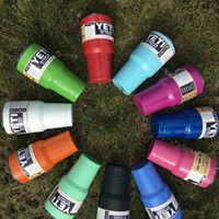 beer sales - Colored Yeti Cups Hot Sale Rambler Tumbler YETI Cups Cars Beer Mug Large Capacity Mug Tumblerful