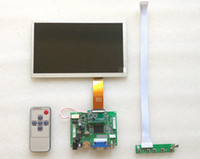Wholesale Car pc Carputer DIY inch High resolution high brightness LCD Kit Reversing the priority HSD080IFW1 USB capacitive Touch WIN7 Android