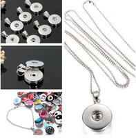 american press - Hot sales NOOSA Long Press Noosa Chunks Necklace Pendant Snap Button Noosa Pendant Necklaces for Women DIY Noosa Jewelry