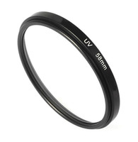 Wholesale 58mm UV Filter Lens Filter Adapter Mount Ring Aluminum Filters For Cameras