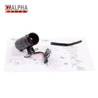 alpha lead - Alpha Adjustable Tachometer K K RPM Tacho Gauge Aluminum Shift Light Red Warning LED Light Black Surface