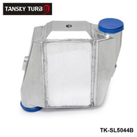 Wholesale TANSKY Universal Aluminum Bar Plate Front Mount Water To Air Intercooler Inlet Oulet quot Core quot x12 quot X4 quot TK SL5044B