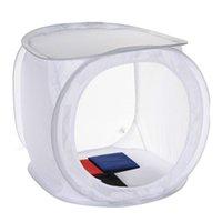 Wholesale High quality inch x40x40cm Photo Studio Shooting Tent Light Cube Box SoftBox Kit x Backdrops