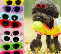 Wholesale 50PCS Pet Dog Cat Sunglass Hair Ornament Accessory Cute Fashion Pet Grooming Pet Accessory Color Mix Order