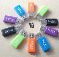 Wholesale High Speed USB Micro SD card T Flash TF M2 Memory Card Reader adapter gb gb gb gb gb gb TF Card free ship