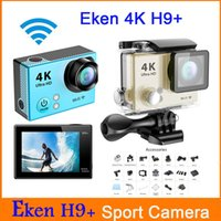 Wholesale H9 Plus Action Camera K fps Gopro hero Style inch LCD Screen Wifi MP M Waterproof Full HD1080P pfs Sport Camera H9 plus