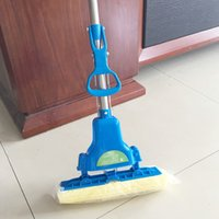 Wholesale Hot Selling Sponge Mops Floor Cleaning Mop Folding Absorbing Squeeze Water Magic Mop Household Cleaning Tools JG0010 kevinstyle