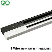 Wholesale 1m LED track light rail track lighting fixture rail for track lighting Universal rails Wire Version Straight Corner way way Connector