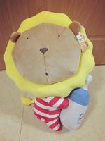 baby tv products - 35 cm Movie Cartoon Plush Toy Cream lion Kis Monkey hippopotamus Crayon Shin chan Dream baby The rascal rabbit PP Cotton for Child Gift