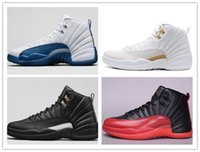 Wholesale Hot Sale New Arrival Retro Flu Game Men Basketball Shoes Cheap Sell French Blue Shoes With Best Quality Size Us