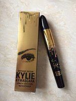 Wholesale 2016 New High quality Kylie Mascara Magic thick slim waterproof mascara Black Eye Mascara Long Eyelash