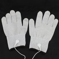 body massage products - NEW BDSM Whole Body Massage Conductive Super Elastic Gloves Electric Shock Sex Toys For Couples flirting Sex Products