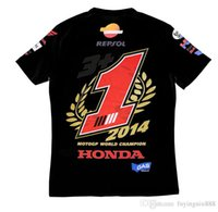 Wholesale New Motorcycle Racing MOTOGP Marquis new motorcycle clothing cotton short sleeved T shirt commemorative T shirt Breathable Anti UV