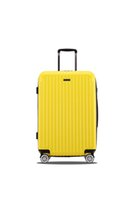 best spinner luggage - Best sale abs material waterproof cabin luggage with spinner wheels school luggage suitcase simple travel trolley suitcase