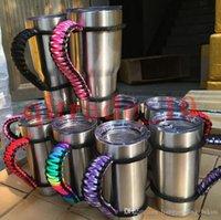 Wholesale YETI cups Handle Handmade Paracord Yeti Rambler oz oz Tumbler Handle have in stock HHAA11