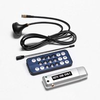 Wholesale New pc USB DVB T Digital TV Receiver HDTV Tuner Dongle Stick Antenna IR Remote